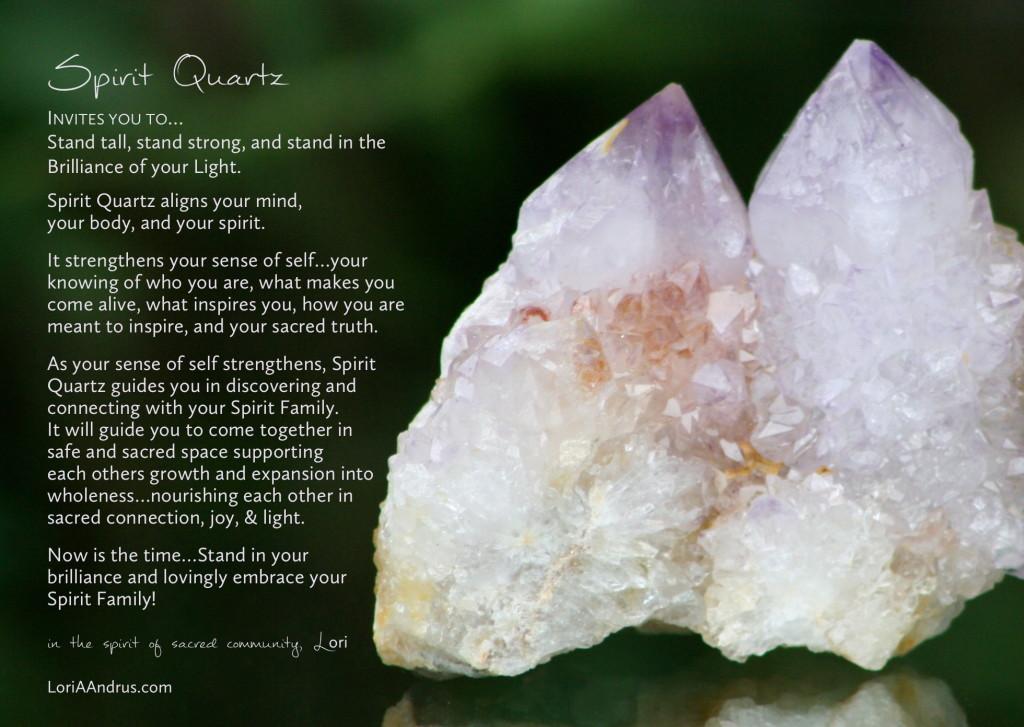 Spirit Quartz - Lori A Andrus