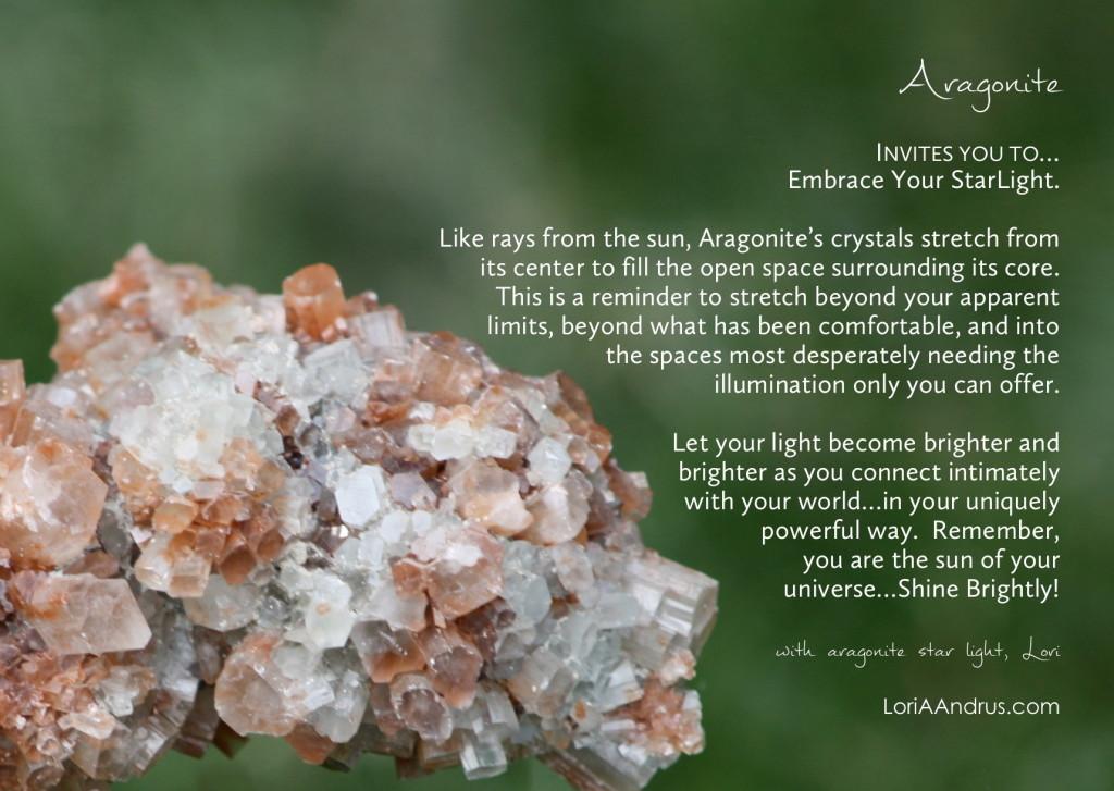 Aragonite - Lori A Andrus