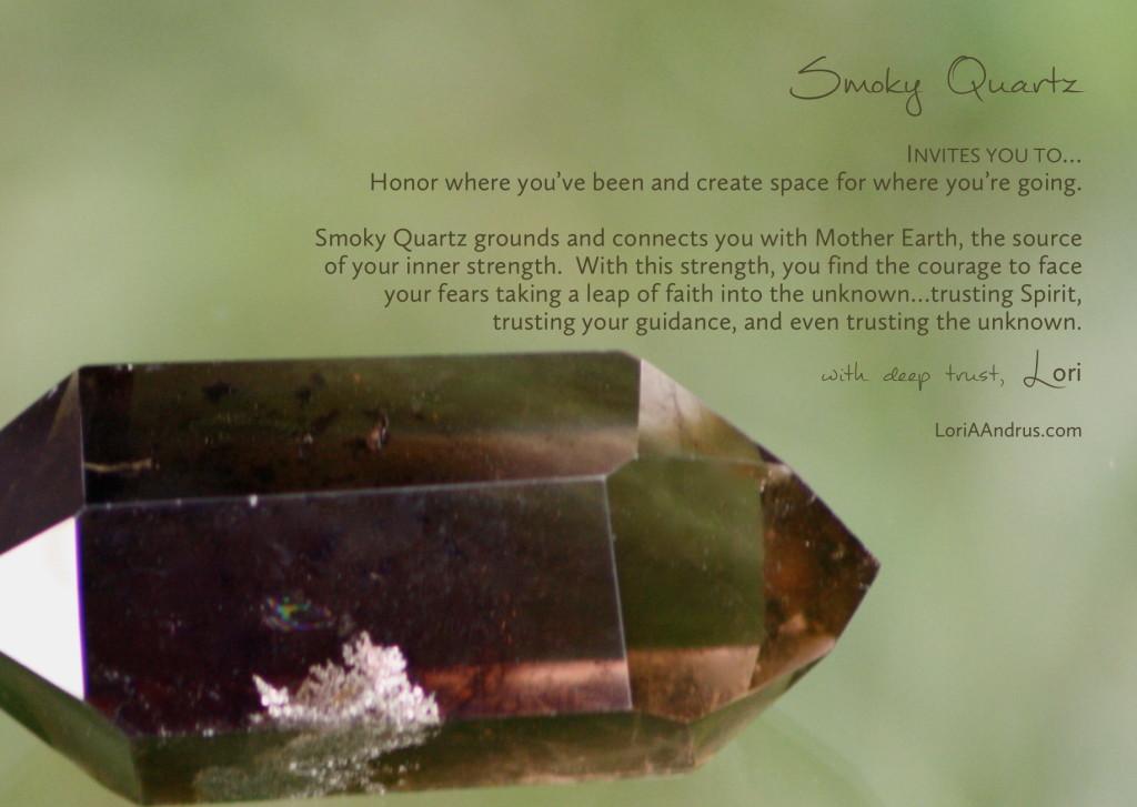 Smoky Quartz - Lori A Andrus