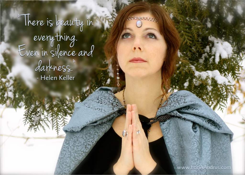 Beauty in Everything - helen keller