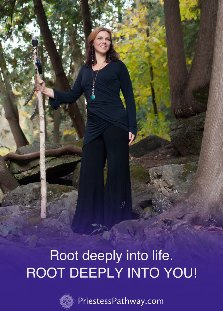 Root into you! - Lori A Andrus