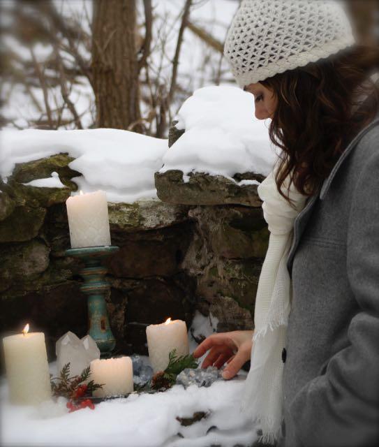 winter altar
