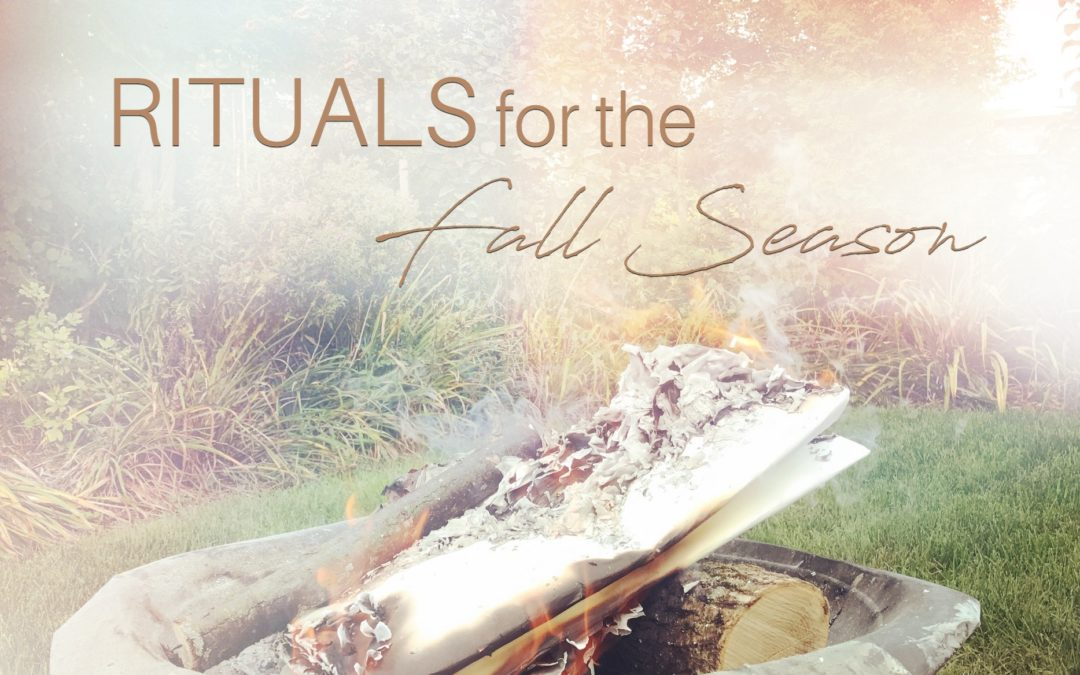 Happy Equinox : Rituals for the Fall Season