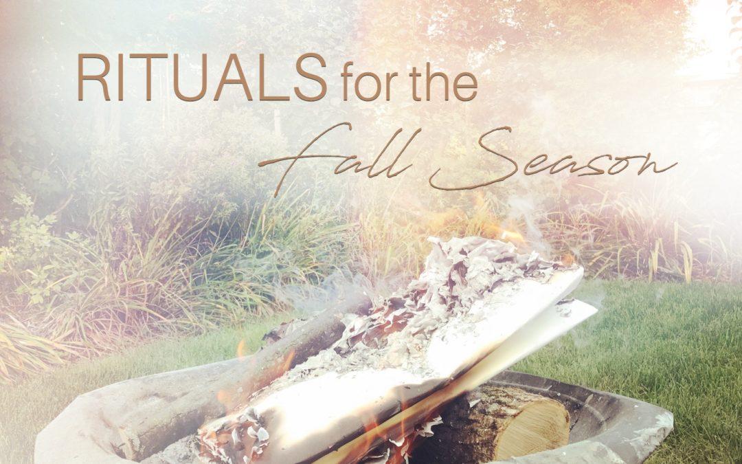 Happy Equinox : Rituals for the Fall Season