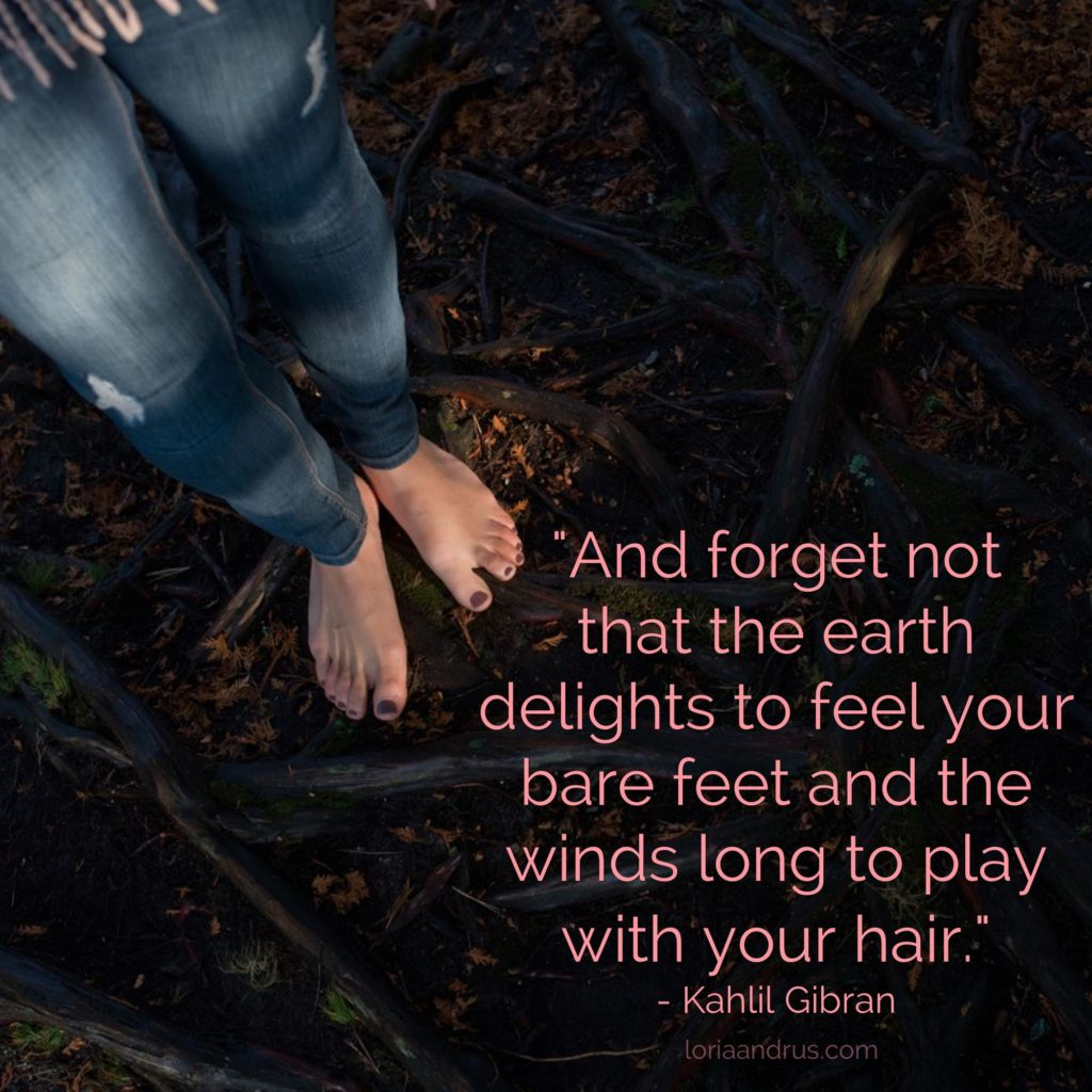 The Earth Delights - Kahlil Gibran Quote