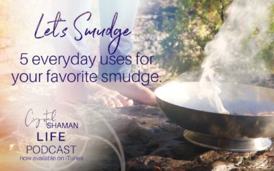 Let's smudge . . . 5 practical uses for your favorite smudge