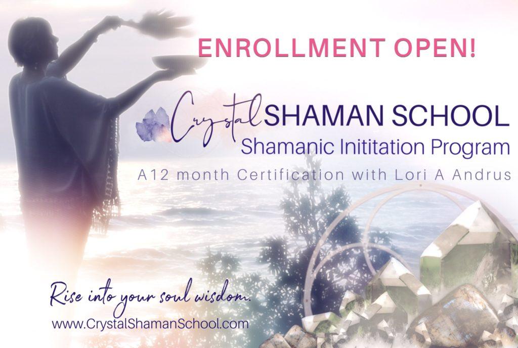 Crystal Shaman School - Enrollment Open