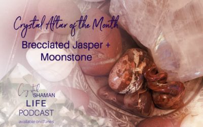 The May Crystal Altar of the Month
