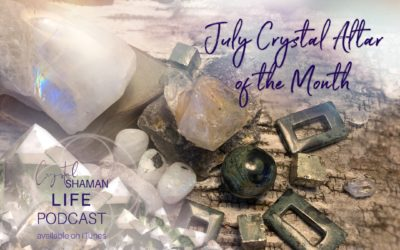 After the Storm. July Crystal Altar of the Month.
